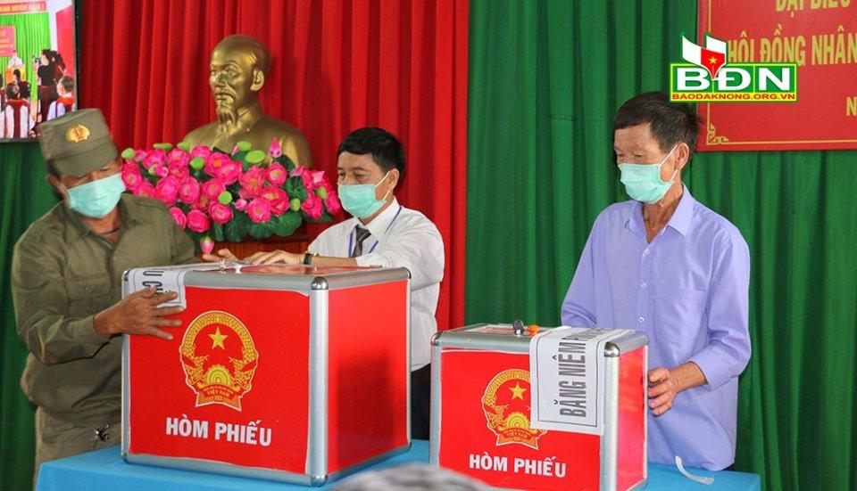 bầu cử tại đăk nong